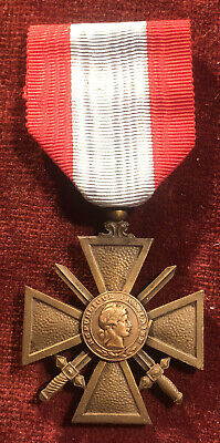 £14.99 • Buy WW2 French CROIX DE GUERRE Medal Theatre Of External Operations TOE Army
