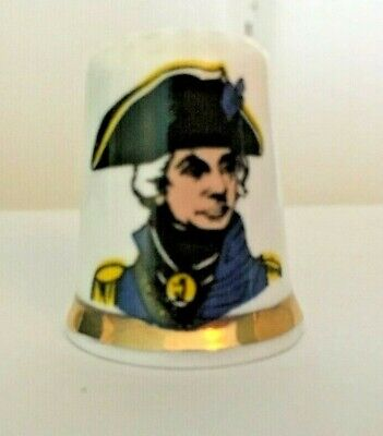 £2.50 • Buy Collectors Thimbles. Admiral Lord Nelson.