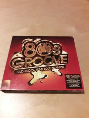 £4 • Buy Ministry Of Sound - 80s Groove -old Skool Funk Soul Classics - Excellent Conditi