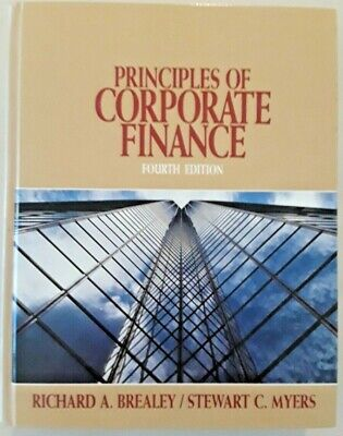 £3.64 • Buy Principles Of Corporate Finance Fourth Edition Brealey/Myers Hardcover