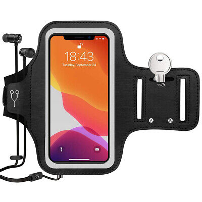 AU20.99 • Buy Sports Armband Phone Holder Jogging Gym Running For IPhone 13/12/11/X/XS Max/XR