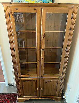 £30 • Buy Ducal Victoria Solid Wood Display Cabinet/bookcase - Reduced Price!