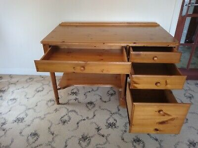 £75 • Buy Ducal Pine Desk. Superb Qualty. Victoria Pine Finish. Very Good Condition.