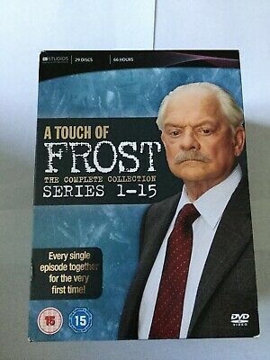 £26.35 • Buy A Touch Of Frost The Complete Collection Dvd Boxset