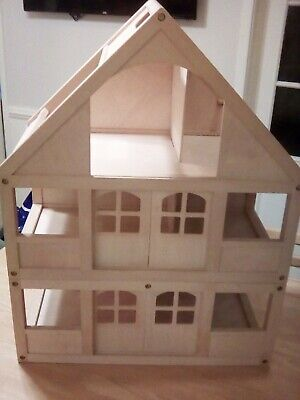 £37.99 • Buy ELC Wooden Dolls House 3 Story Dolls House - Genuine Early Learning Centre
