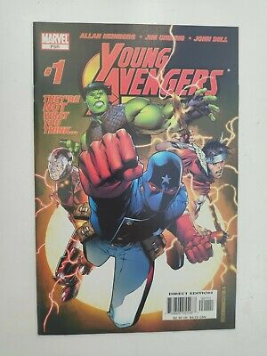 £200 • Buy Young Avengers #1 NM 2005 1st Appearance Of Kate Bishop Disney+ Hawkeye