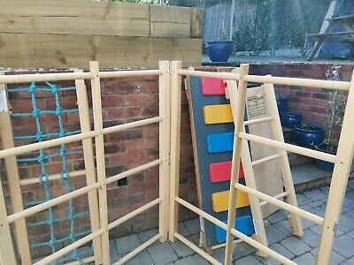£10 • Buy Wooden Climbing Frame With Slide