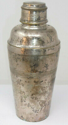 £6 • Buy Vintage Silver Plated Cocktail Shaker