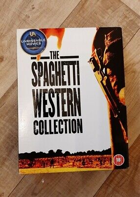 £5 • Buy The Spaghetti Western Collection UK DVD Box Set Clint Eastwood