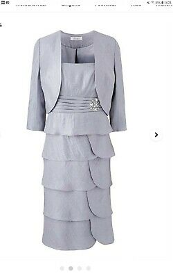 £25 • Buy Ladies Dress And Jacket Size 16 Nightingales Perfect Mother Of Bride Outfit