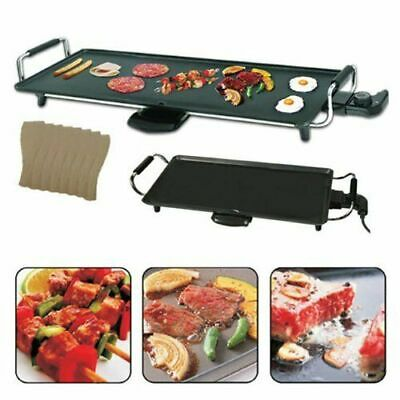 £29.99 • Buy Large Teppanyaki Grill Table Electric Hot Plate Bbq Griddle Camping 2000w