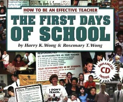 £3.67 • Buy The First Days Of School: How To Be An Effective Teacher [Book And CD] 3rd Editi
