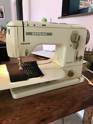 £80 • Buy Bernina 730 Heavy Duty Sewing Machine With Foot Pedal, Lots Of Feet And Case