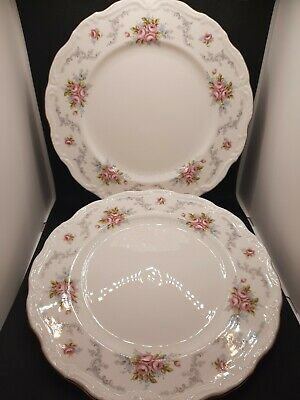 £24.75 • Buy ROYAL ALBERT - Pair Of 2 Tranquility Pattern Ditsy Roses 10.25 Inch Dinner Plate