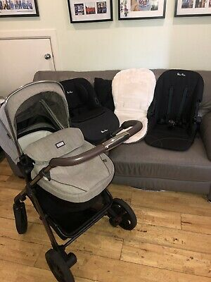 £329.99 • Buy ❤️silver Cross Wayfarer Expedition Special Edition 3 In 1 Travel System Pram❤️
