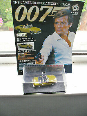 £5.99 • Buy Mgb Sports Carthe Man With The Golden Gun  No19 James Bond Collection 1/43 Scale
