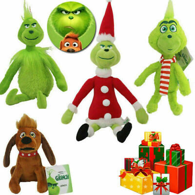 £6.88 • Buy Grinch Plush Doll How The Grinch Stole Stuffed Christmas Kids Toys Gift