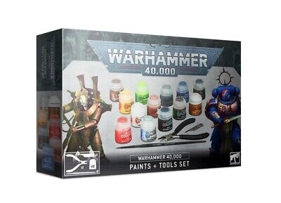 £16 • Buy Warhammer 40k Paints And Tools Set