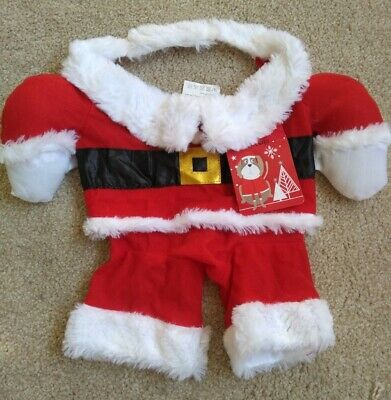 £2.99 • Buy Brand New Dog Santa Claus Outfit-small Dog Size