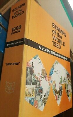 £22.99 • Buy Stamps Of The World 1980 A Stanley Gibbons Catalogue, Hardback, FREEPOST