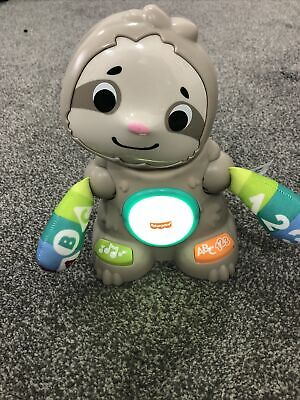 £16 • Buy Fisher-Price Linkimals Smooth Moves Sloth Baby Toy With Music & Light - GHR18