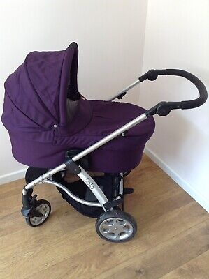 £70 • Buy Mamas And Papas Sola Pram And Carry Cot In Plum