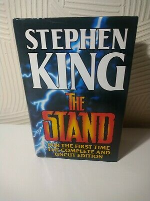 £12.99 • Buy Stephen King The Stand Complete Uncut Edition Guild Publishing 1990 Illustrated