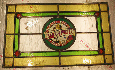 £30 • Buy Stained Glass Window Panel - Newcaste Breweries - Pub Decoration - Project