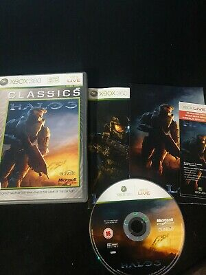 £4.99 • Buy Halo 3 Video Game For Microsoft Xbox 360 PAL + Poster Included