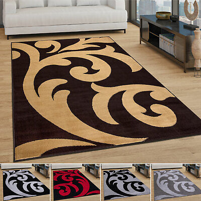 £12.99 • Buy Large Rugs Floral Area Carpets Non Shed Anti Slip Soft Mats Floor Warm Rug