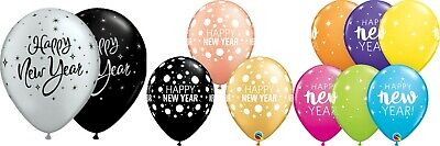 £2.99 • Buy Happy New Year Balloons New Years Eve 11  Latex Qualatex Party Decorations