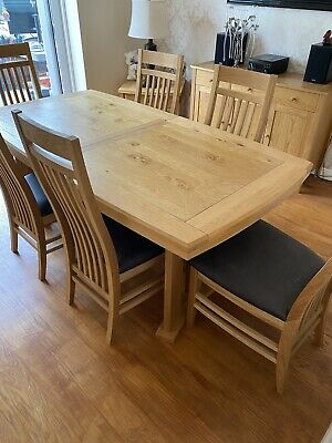 £575 • Buy John Lewis Burford Extendable Dining Table With 6 Chairs - Excellent Condition
