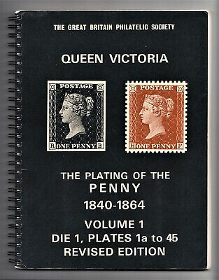 £16 • Buy Queen Victoria - The Plating Of The Penny 1840 - 1864 Volume 1 - Roland Brown