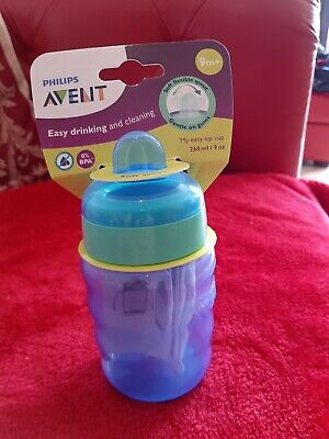 £3 • Buy Philips Avent Easy Sip Spout Cup 260ml Blue