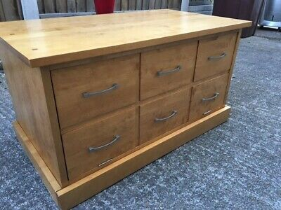 £10 • Buy Next TV Cabinet In Used Condition, With Drawer Look Front In Solid Wood