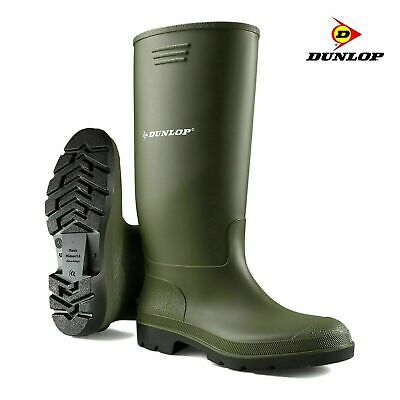 £14.95 • Buy Dunlop Wellies Wellingtons High Calf Hunting Muck Boots Shoes UK Size 11