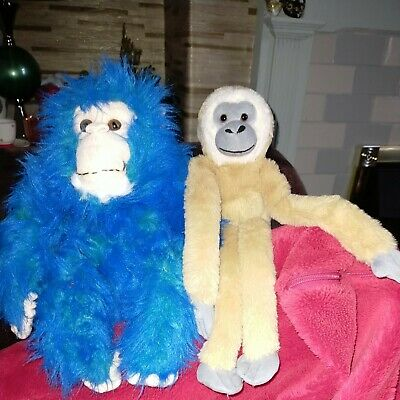 £3.99 • Buy Two Plush Monkeys By Keel +Playmakers