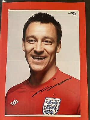 £9.99 • Buy John Terry- England Footballer Signed Picture