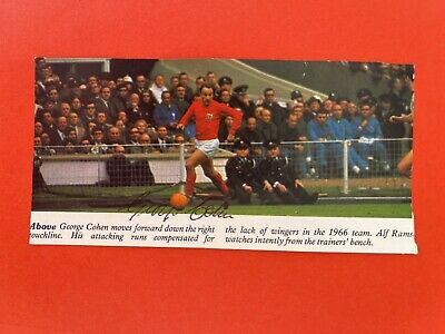 £19.99 • Buy George Cohen- England Footballer Signed Picture