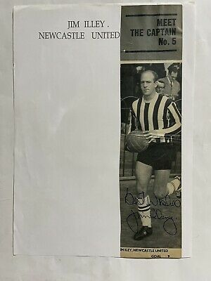 £9.99 • Buy Jim Illey - Newcastle Utd Signed Picture