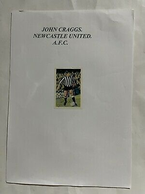 £9.99 • Buy John Craggs- Newcastle Utd Signed Picture