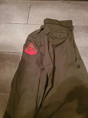 £21.82 • Buy Ww2 Dress Jacket. And Pants 46R 1943 American Matching Names On Both