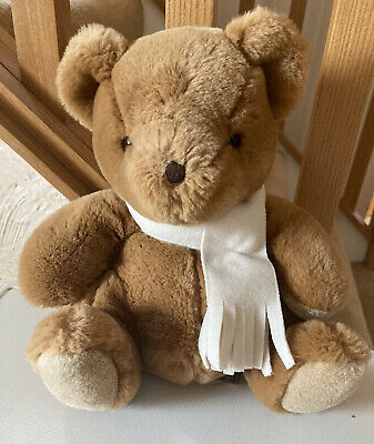 £1.50 • Buy Simply Soft Collection Keel Toys 10 Inch Brown Bear Soft Plush Toy Scarf