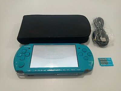 £99.95 • Buy Sony PlayStation Portable PSP 3003 - Slim Lite Limited Turquoise Green Console