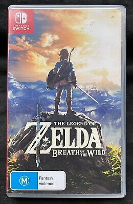 AU50 • Buy Nintendo Switch The Legend Of Zelda : Breath Of The Wild Video Game - Like New