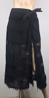 AU25 • Buy Tigerlily Black Despina Maxi Skirt - Size Small - New With Tags