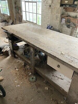 £20 • Buy Joiners/ Carpenters Woodworking Bench With 2 Fixed Vices