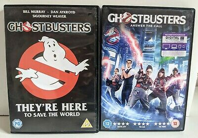 £3.99 • Buy Ghostbusters - Answer The Call PLUS Ghostbusters 1984 DVD