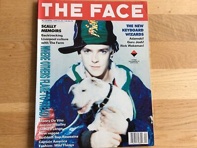 £1 • Buy The Face April 1990~Adamski~ Kate Moss By Corinne Day~Gussie Clarke