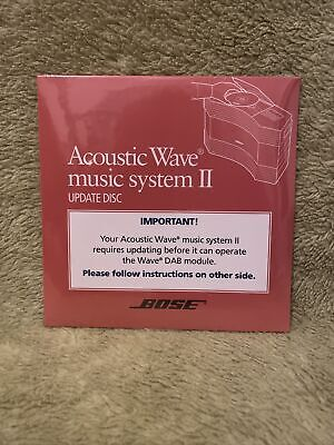 £25 • Buy Bose Acoustic Wave II Music System Update CD Disc For DAB 305044-000 New